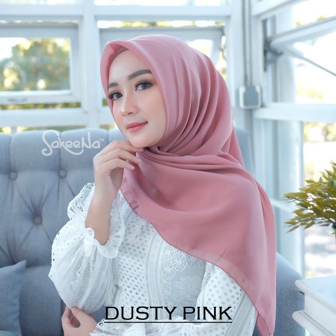 Bella Square Dusty Pink